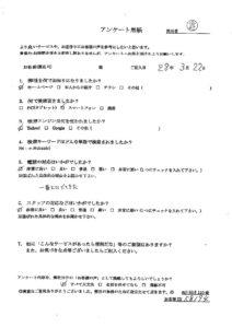 渋谷区にてシングルベッドの回収処分のご依頼 お客様の声