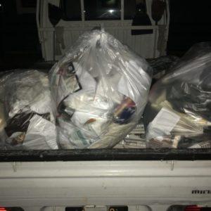 電話当日に即日回収可能!他社に断られた未分別の家庭ゴミも安く回収してもらえた、と喜んで頂けました!