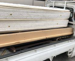 小平市花小金井南町でシングルベッド2台の回収 施工事例紹介