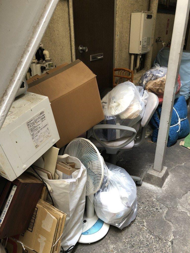 【北区】遺品整理に伴い2トントラック1台程度の不用品回収処分 お客様の声