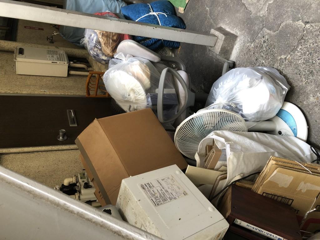 【東京都北区】2トントラック1台程度の不用品回収処分 お客様の声