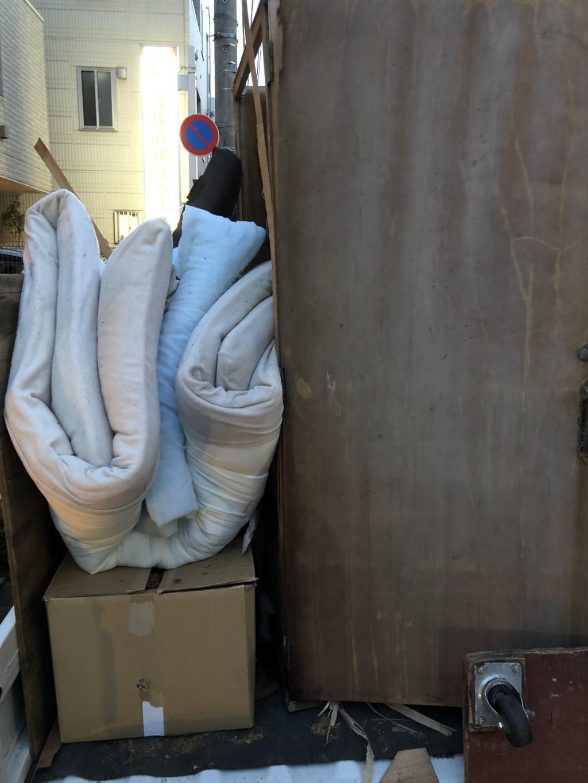 【墨田区】布団などの出張不用品回収・処分ご依頼 お客様の声