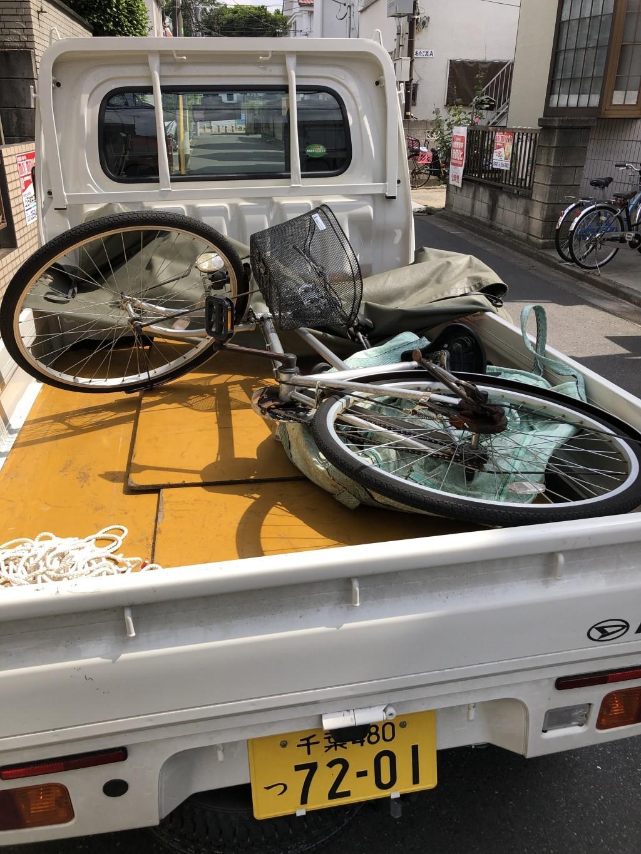 【練馬区】自転車の出張不用品回収・処分ご依頼