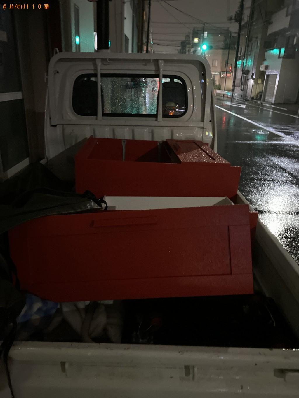 【墨田区】整理タンスの回収・処分 お客様の声