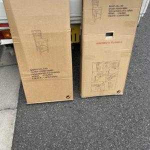 【港区】パイプ椅子、ゴミ箱の回収・処分ご依頼 お客様の声