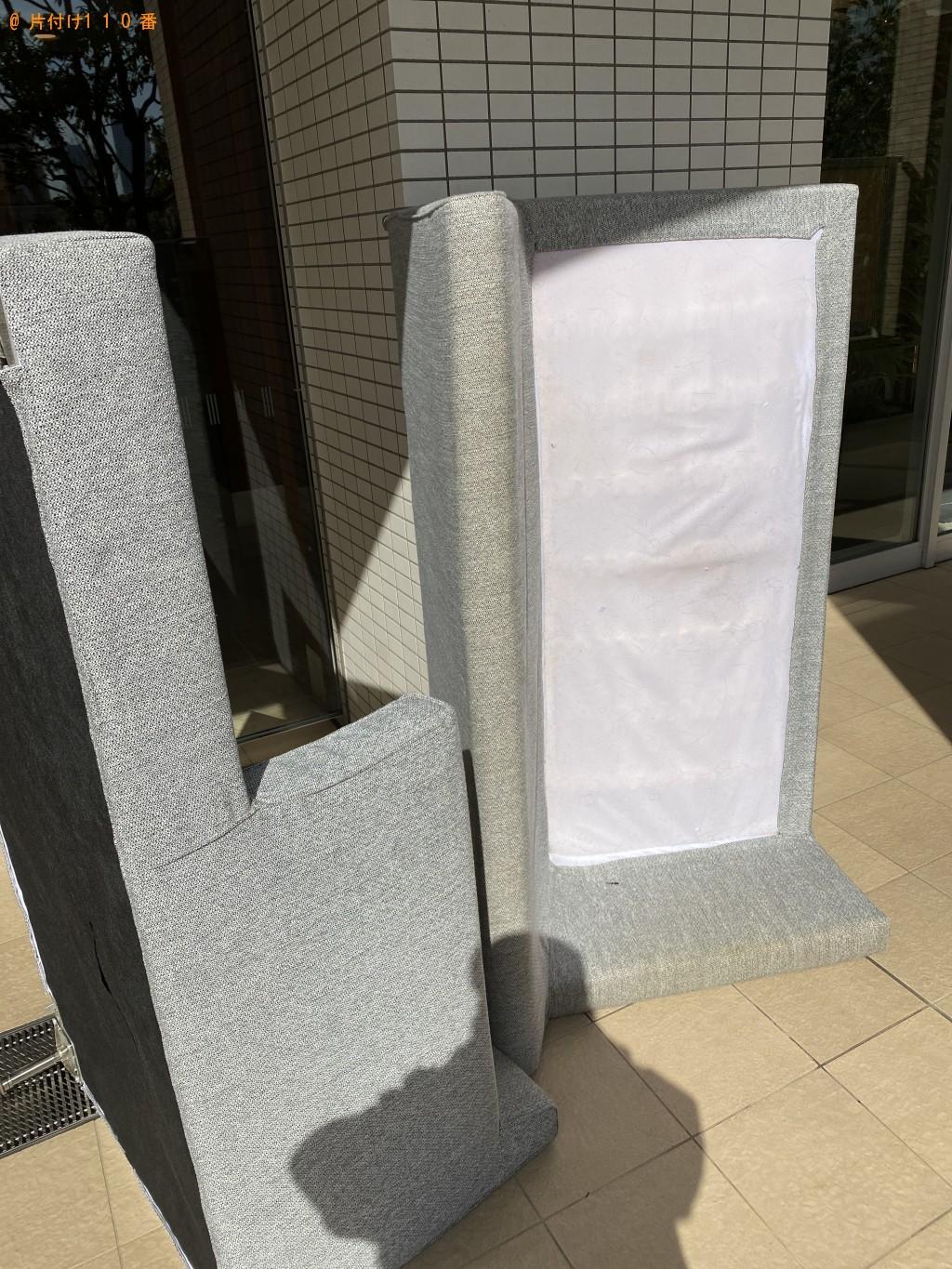 【江東区】L字のソファーの回収・処分ご依頼 お客様の声