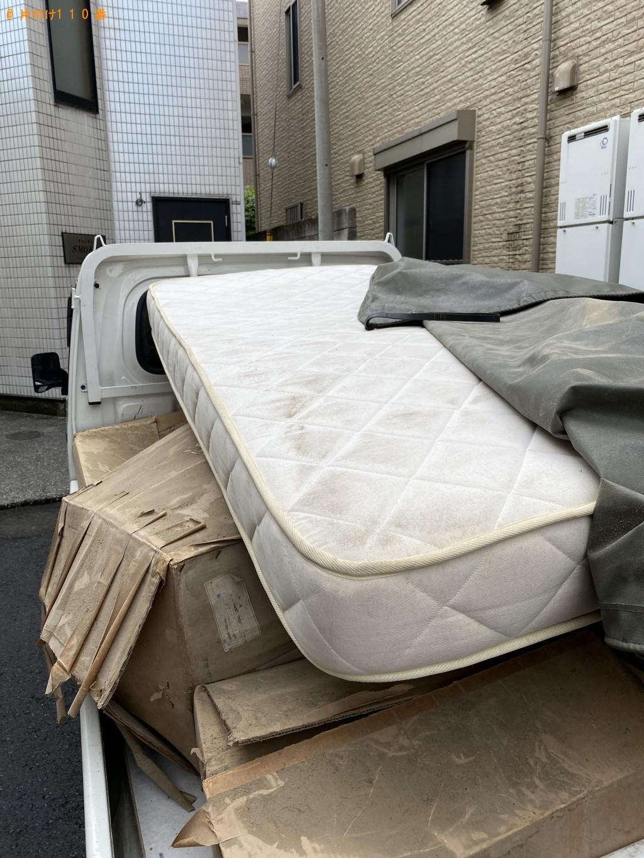 【世田谷区】シングルベッドマットレスの回収・処分ご依頼