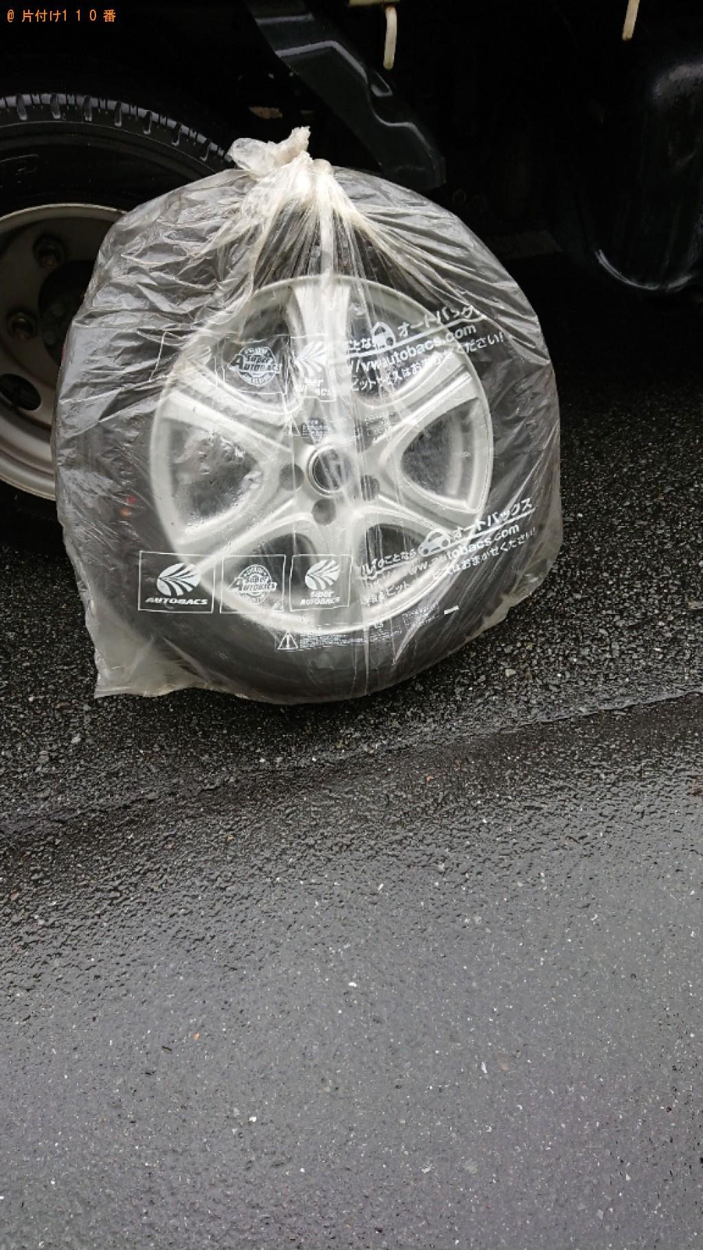 【世田谷区】自動車タイヤの回収・処分ご依頼 お客様の声