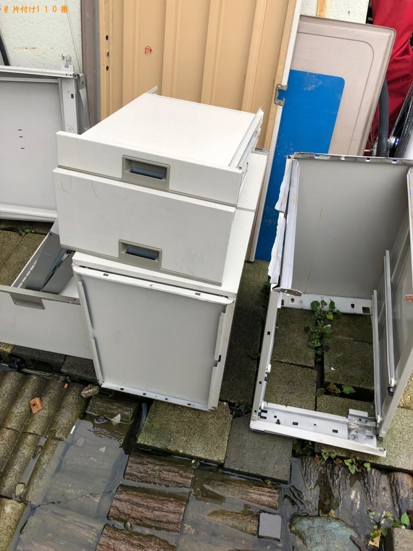 【大田区東嶺町】本棚、PCデスクの回収・処分ご依頼 お客様の声