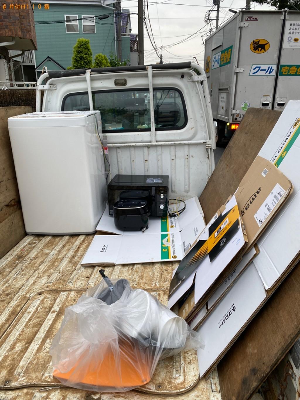 【練馬区】洗濯機、電子レンジ、ダンボール等の回収・処分ご依頼