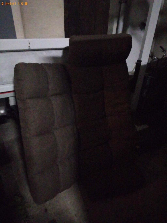 【世田谷区】二人掛けソファーの回収・処分ご依頼 お客様の声