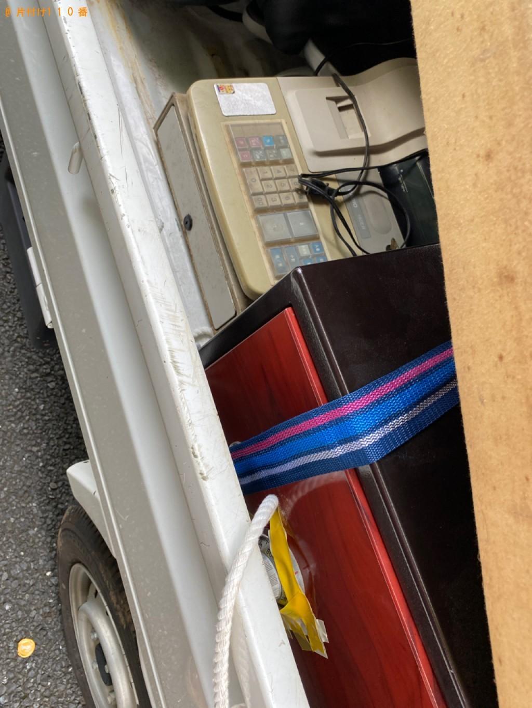 【立川市】カーペット、ダブルベッド、ゴミ箱の回収・処分ご依頼