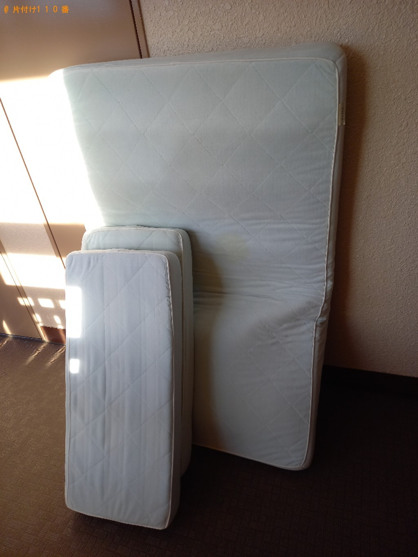 【世田谷区】シングルベッド、セミダブルベッド等の回収・処分