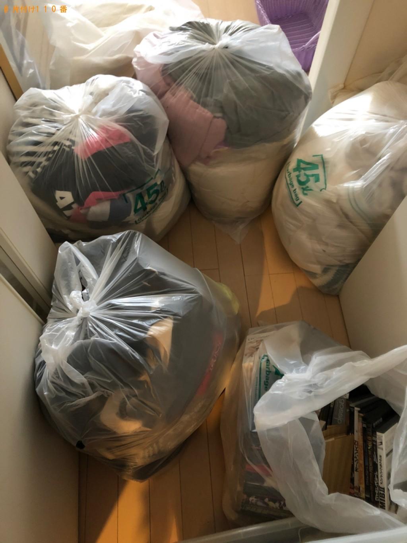 シングルベッドマットレス、一般ごみ等の回収・処分
