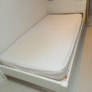 【世田谷区】シングルベッド(マットレス付)の回収・処分ご依頼