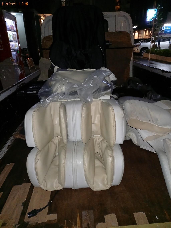【江東区】マッサージチェア、布団の回収・処分ご依頼 お客様の声