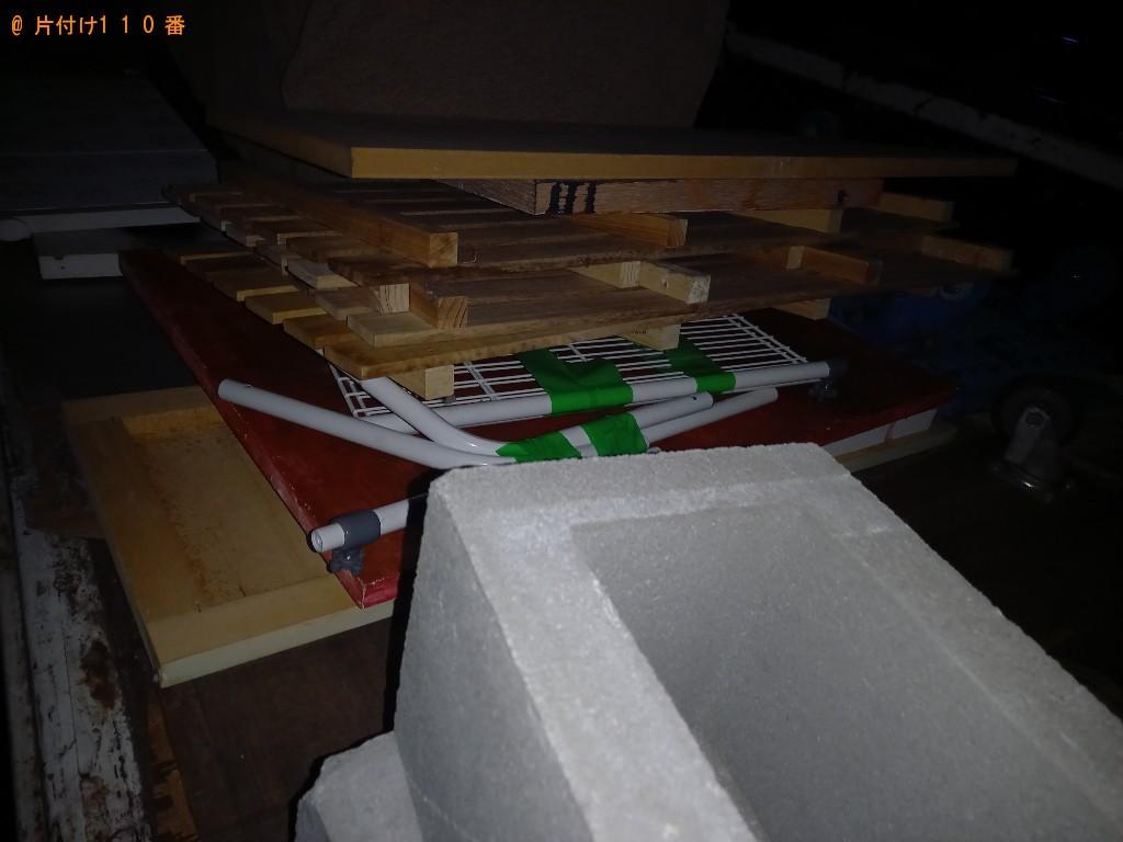 【小平市】木製パネル、木の板、工具バッグの回収・処分ご依頼
