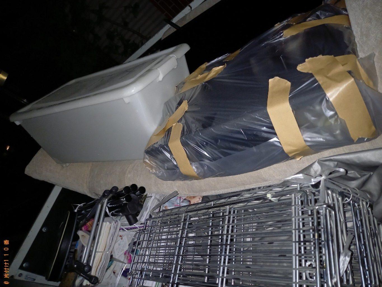 【練馬区】パソコン、衣装ケース、パイプ椅子、メタルラック等の回収