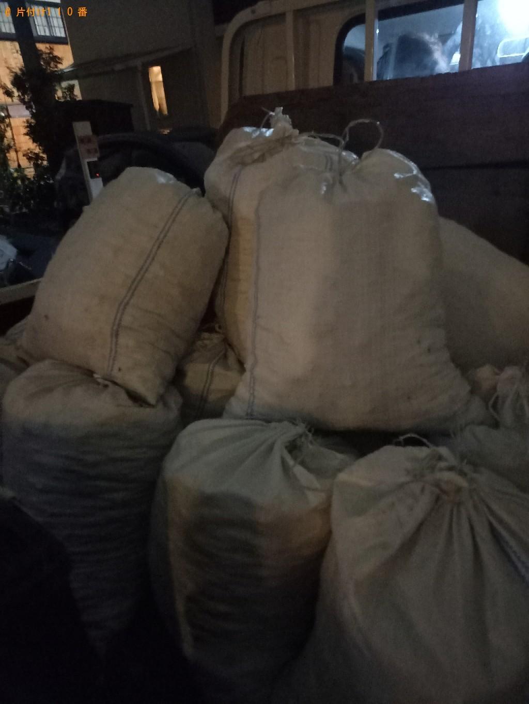 【練馬区】土や砂利などが入った土嚢袋の回収・処分ご依頼