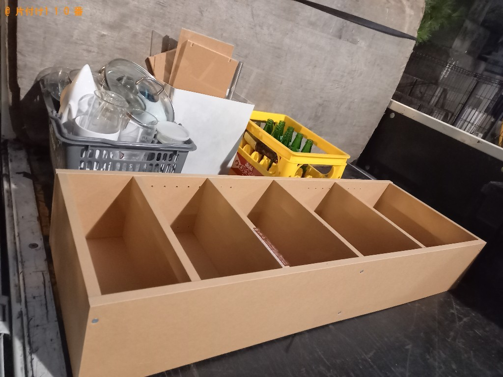 【練馬区】本棚、ダンボール、一般ごみ等の回収・処分ご依頼