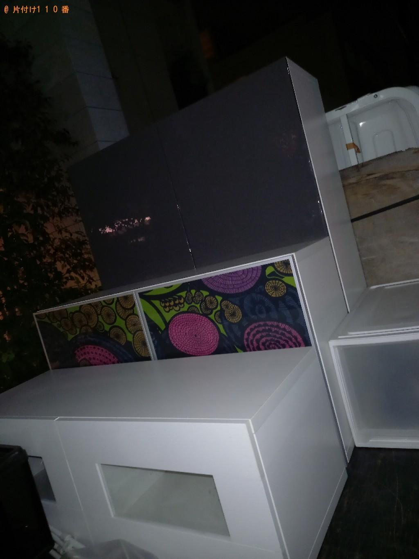 【世田谷区】本棚、家具等の回収・処分ご依頼 お客様の声