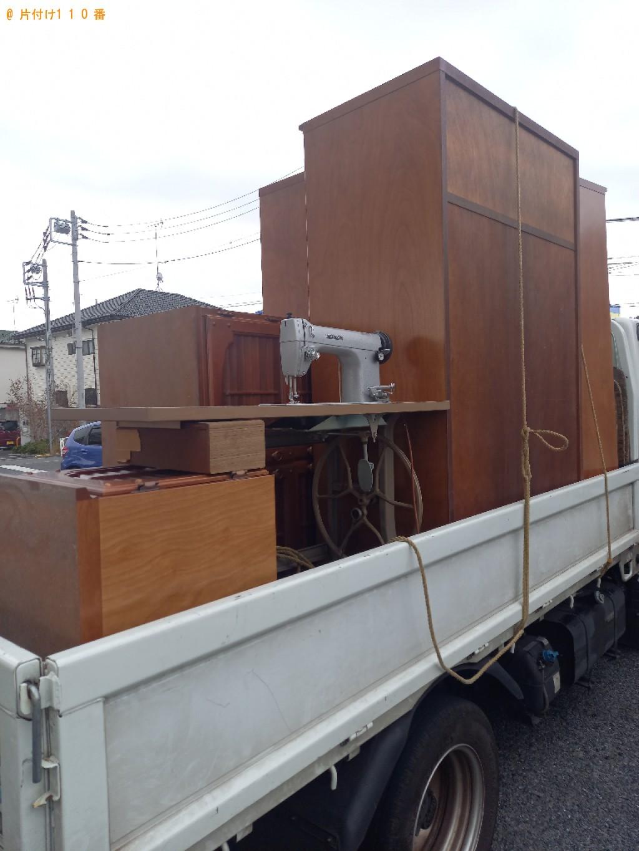【練馬区北町】タンス、クローゼット、鏡台の回収・処分ご依頼