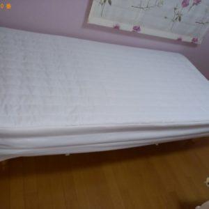 【西東京市】マットレス付きシングルベッドの回収・処分ご依頼
