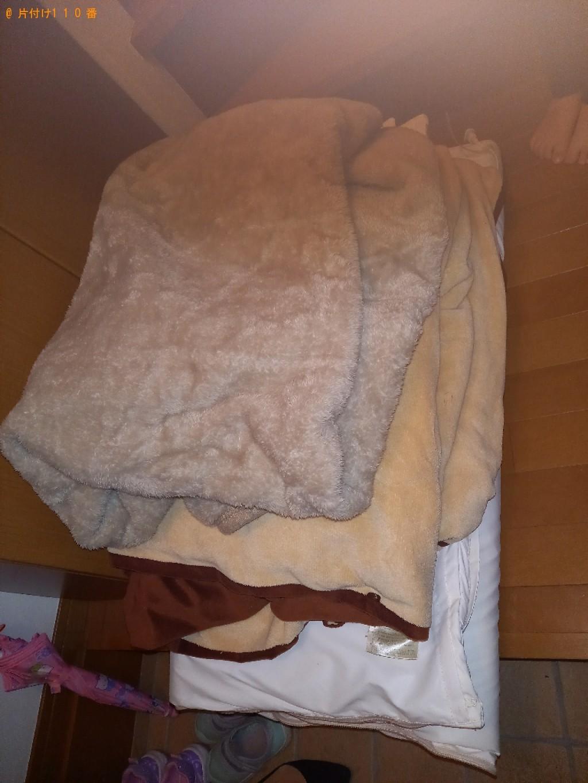 布団、ベビーフェンス、ゴミ箱、おまる等の回収・処分