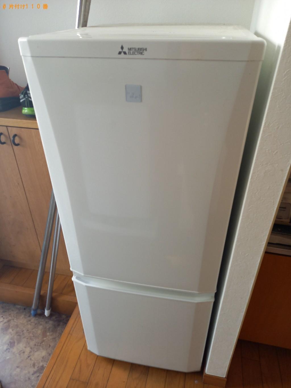 【杉並区】冷蔵庫、洗濯機、マットレス付きシングルベッド等の回収