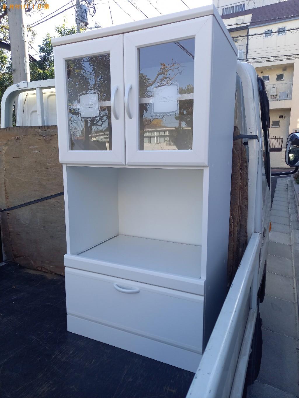 【世田谷区】食器棚の回収・処分ご依頼 お客様の声