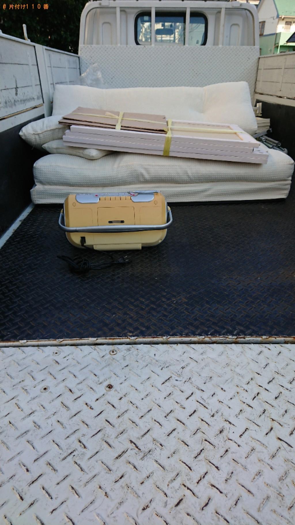 【世田谷区】クローゼット、シングルベッド等の回収・処分ご依頼