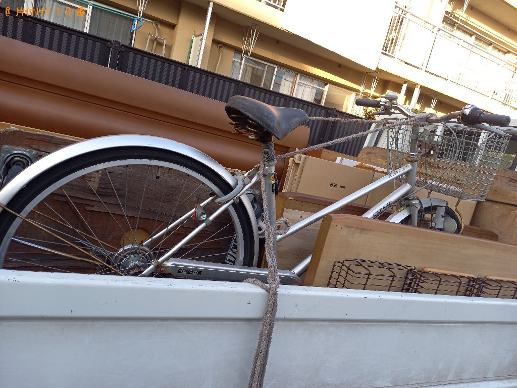 【練馬区春日町】自転車の回収・処分ご依頼 お客様の声
