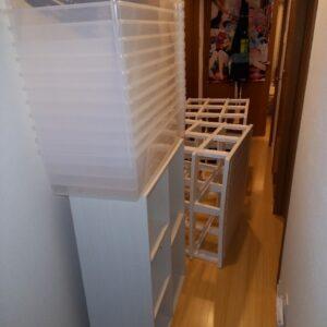 【葛飾区】カラーボックス、衣装ケース、健康器具等の回収・処分