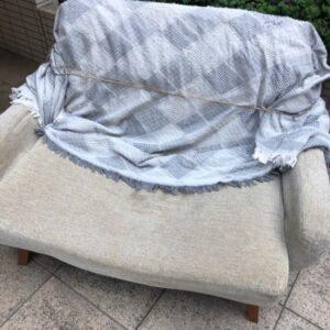 【台東区】二人掛けソファー、ローテーブルの回収・処分ご依頼