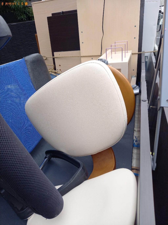 【世田谷区】遺品整理に伴い学習机、シングルベッドの回収・処分ご依頼