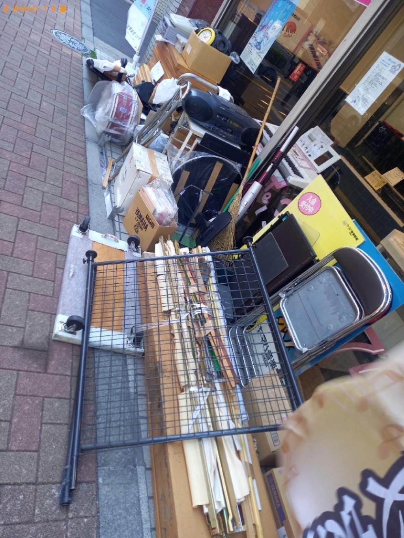 カーペット、椅子、ベッドマットレス、レジスター等の回収