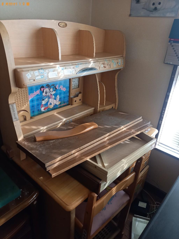 学習机、電子ピアノ、椅子の回収・処分ご依頼 お客様の声