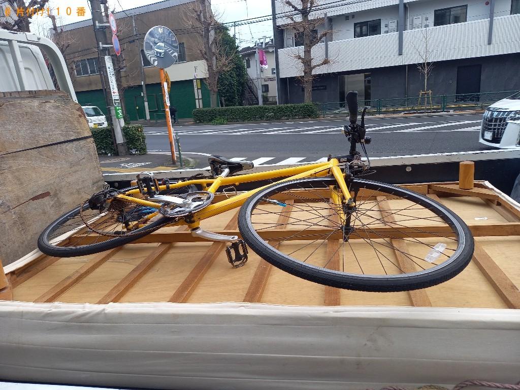 【世田谷区】自転車の回収・処分ご依頼 お客様の声