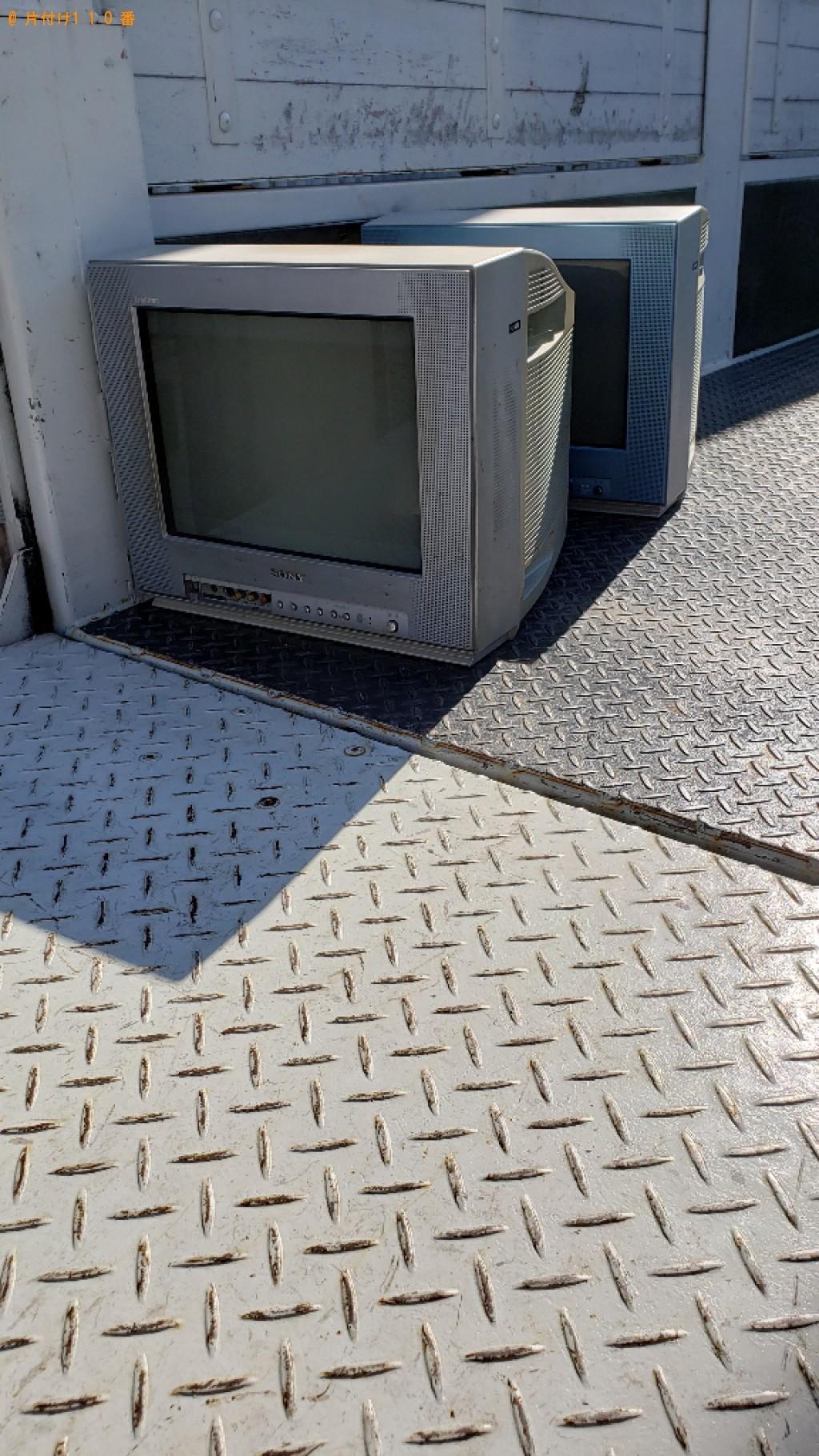 【練馬区】テレビの回収・処分ご依頼 お客様の声