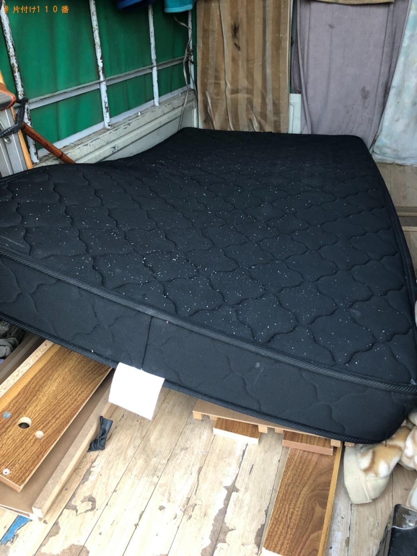 【練馬区】マットレス付きシングルベッドの回収・処分ご依頼