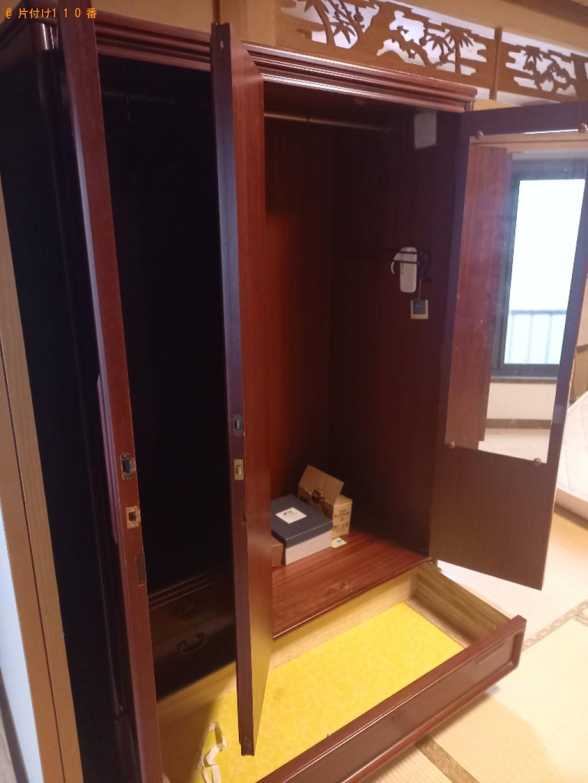 【江東区】婚礼家具、テレビボードの回収・処分ご依頼 お客様の声