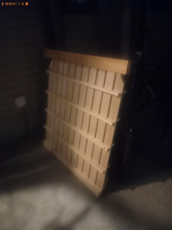 【世田谷区】ロフトベッド、シングルベッド、コンロの回収・処分