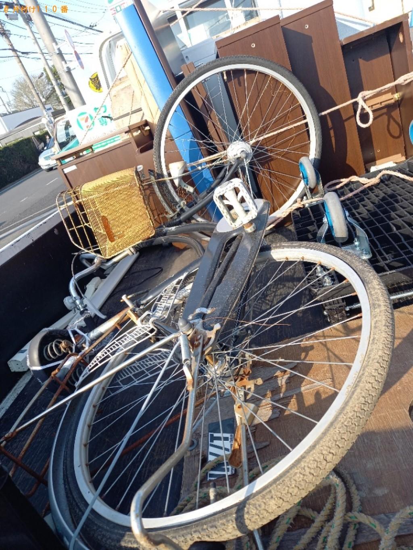 【練馬区石神井町】自転車の回収・処分ご依頼 お客様の声