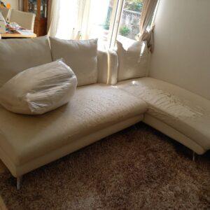【葛飾区】三人掛けソファーの回収・処分ご依頼 お客様の声