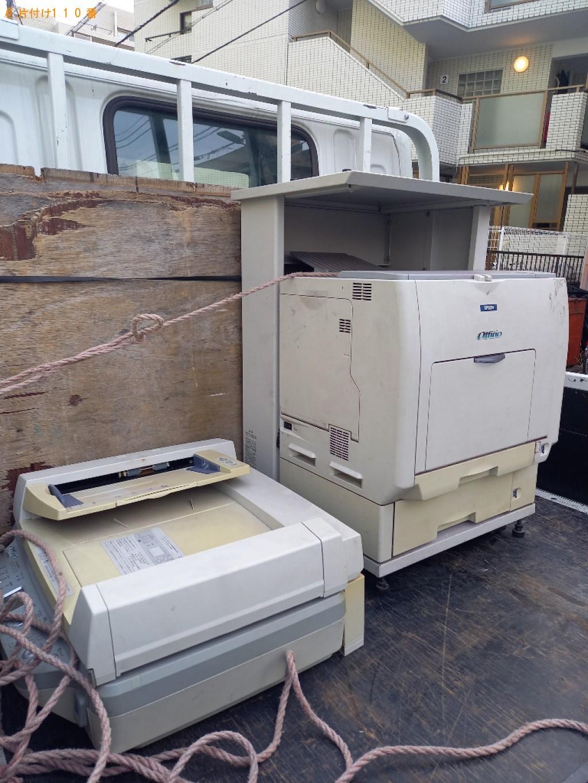 【練馬区】業務用コピー機の回収・処分ご依頼 お客様の声