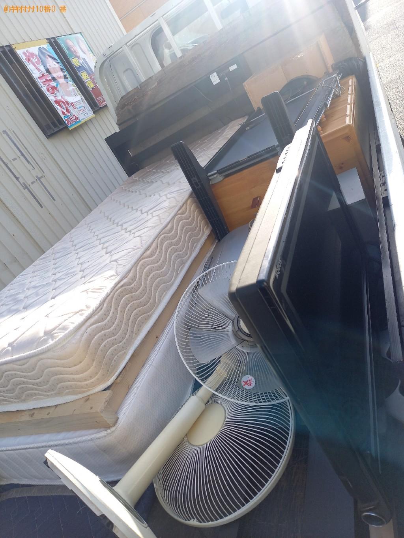 【練馬区春日町】扇風機、タンス、シングルベッドマットレス等の回収