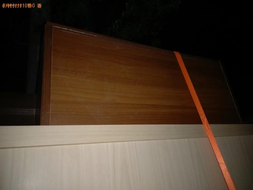 【世田谷区】タンス、簡易ソファー、カラーボックス、ラック等の回収