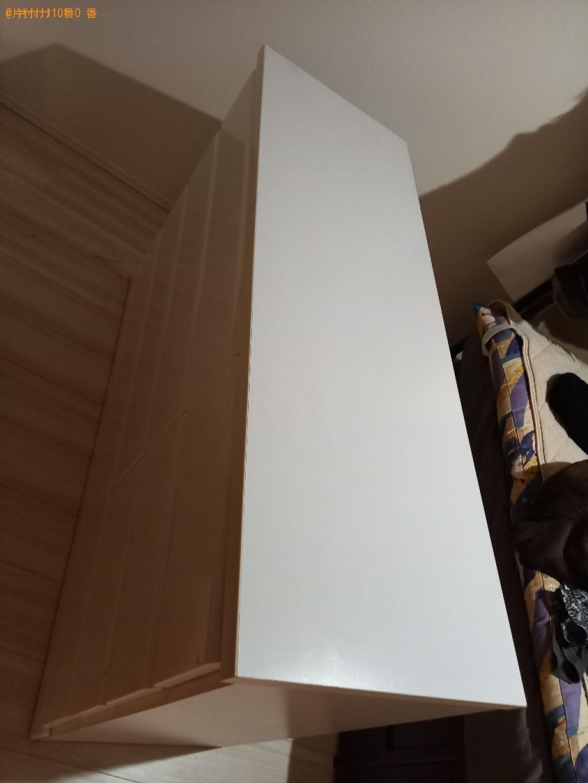 タンス、簡易ソファー、カラーボックス、ラック等の回収