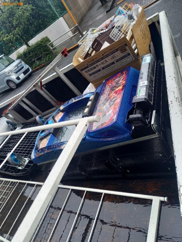 【渋谷区本町】椅子、ラック、パチスロ機等の回収・処分ご依頼