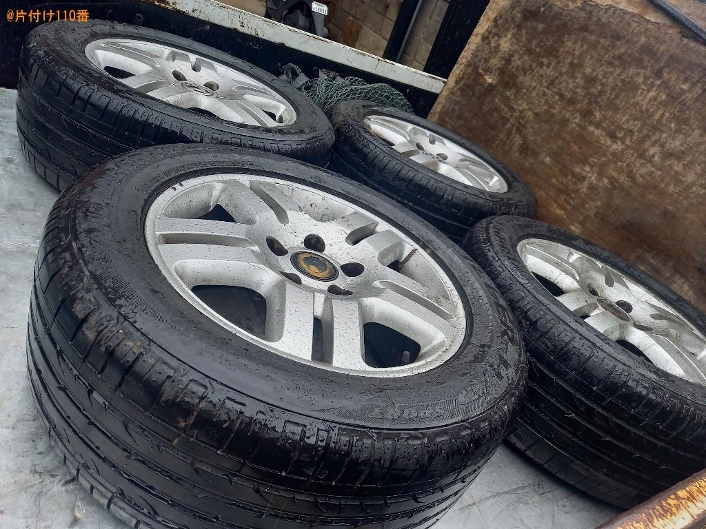 【練馬区】自動車タイヤの回収・処分ご依頼 お客様の声